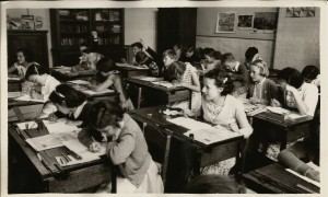 St Peters classroom early 1960s