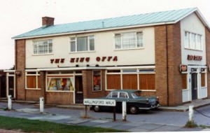 The King Offa c1970s courtesy of Rob Edwards